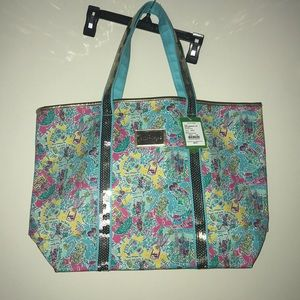 NWT Lilly Pulitzer in the beginning sparkle tote